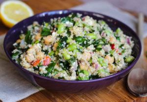 baby-spinach-quinoa-crunchy-edamame-salad